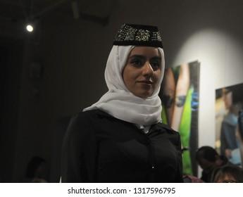 clothes,crimean house,crimean tatars,fashion,fez,girl,handkerchief,kiev,the dress,the muslims,ukraine