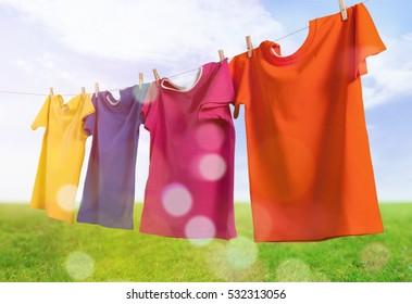 Clothesline.