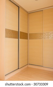 the clothespress in a room
