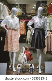 Clothing boutique display