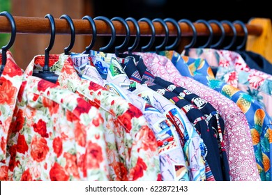 Clothing - colorful clothes,Colorful clothing.