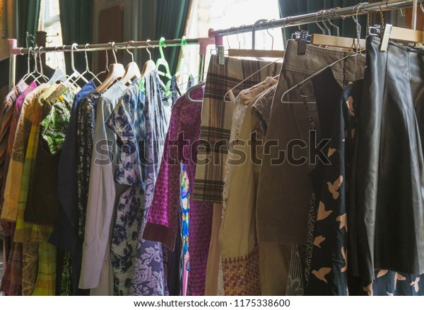 Clothing rack - Clothes hanging - Clothing Swap