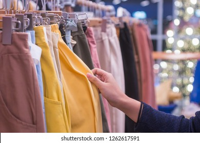 Clothing selection,Shop for clothing,Clothes shop,Clothes Shop Costume Dress Fashion Store Style Concept .