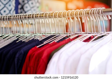 Clothing store background