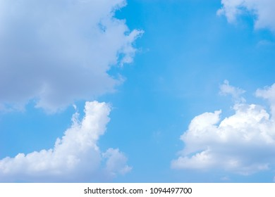 Cloud and Blue Sky background