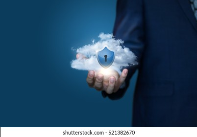cloud data security concept