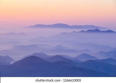 cloud and dawn