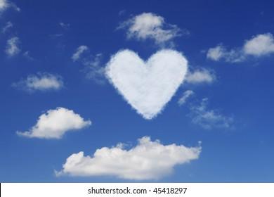 Cloud heart.