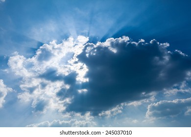 cloud and light