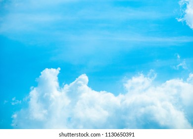 cloud on the sky
