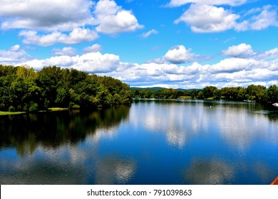 Cloud Reflection in Connecticut River