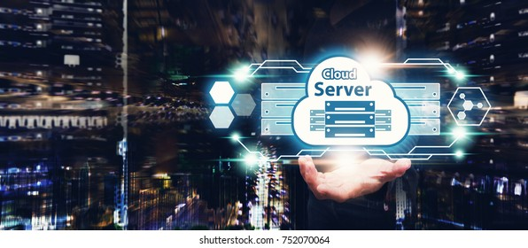 Cloud Server Computing service,  Cloud server application manage file sharing in data center for network security : Network administrator secure process