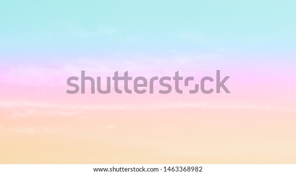 Cloud Sky Pastel Colored Background Wallpaper Backgrounds Textures Stock Image 1463368982