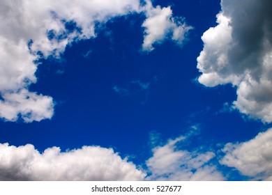 Clouds - Shutterstock ID 527677
