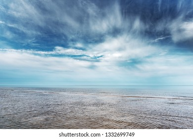 Clouds above Baltic sea.