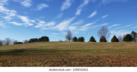 Clouds above a meadow, Massachusetts