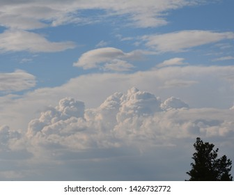 Clouds in the Afternoon Sky