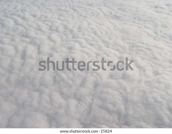 Clouds from an airplane.