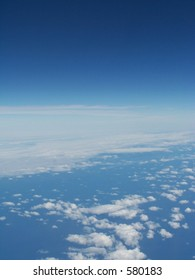 clouds from altitude