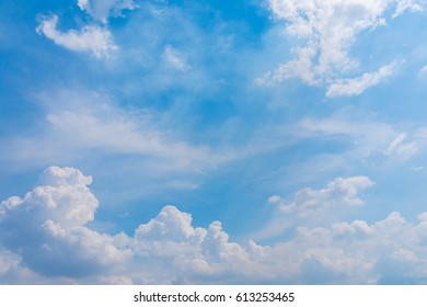 Clouds with blue sky Backgrounds