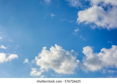 Clouds with blue sky , natural texture. - Shutterstock ID 576726625