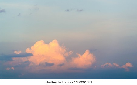 Clouds Cumuliform cloudscape In meteorology, a cloud is an aerosol in the atmosphere of a planetary body.  Water or various other chemicals may compose the droplets and crystals