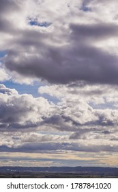 Clouds in Dramatic dark sky. Cloudy sky background.Spain