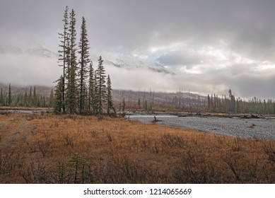 Clouds in Kootenay National Park