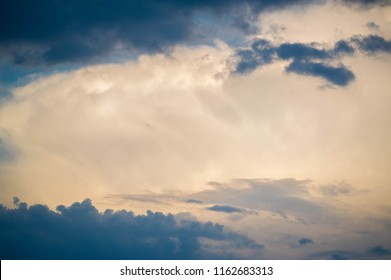 clouds In meteorology, a cloud is an aerosol consisting of a visible mass of minute liquid droplets, frozen crystals, or other particles suspended in the atmosphere of a planetary body.
