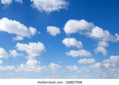 Clouds on heaven