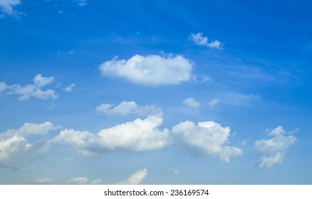 Clouds on the horizon
