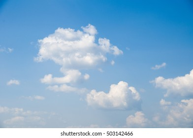 Clouds on Sunny Summer Day