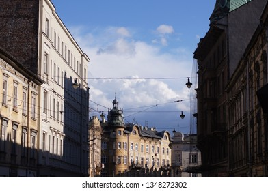 Clouds over Cracow - Shutterstock ID 1348272302