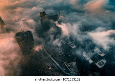 Clouds over Dubai, UAE