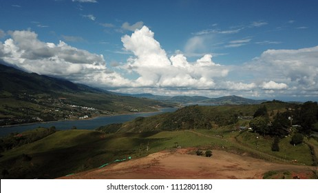 Clouds over Lago Calima