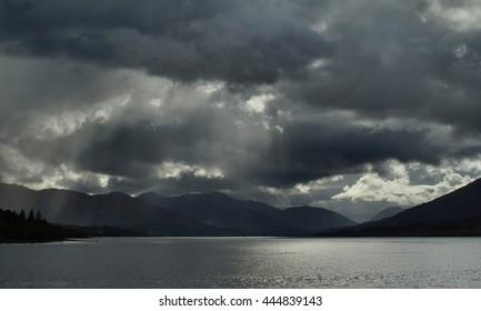 Clouds Over Loch Eil - Scotland