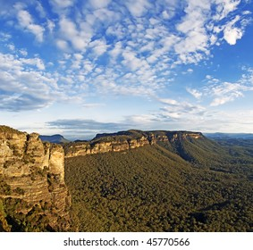 Clouds over Narrowneck, Blue Mountains