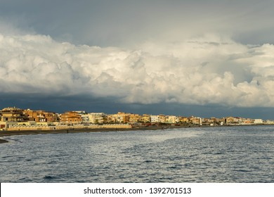 Clouds over Ostia Lido, Rome, Italy