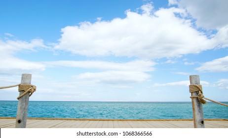 Clouds over Tropical Ocean