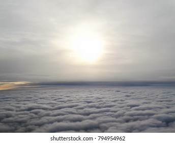 Clouds from the plane - Shutterstock ID 794954962