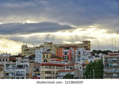 Clouds at Sant Pol