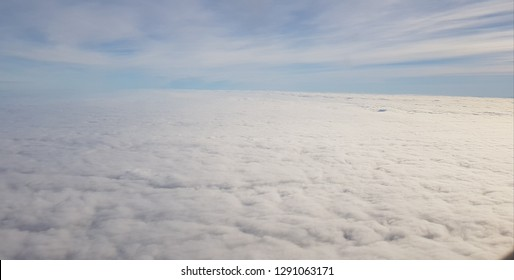 clouds seen from a plane