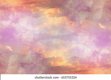 Clouds sky background watercolor color blur design texture