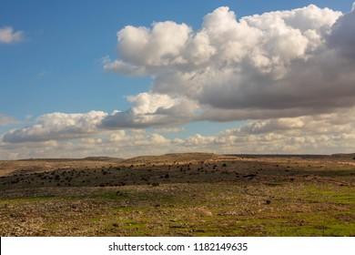 clouds sky hills israel judea and samaria biblical land holy land landscape bible