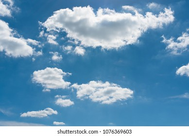 Clouds in sky on summer day