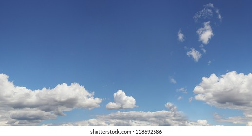 Clouds in the sky, seamless, pattern