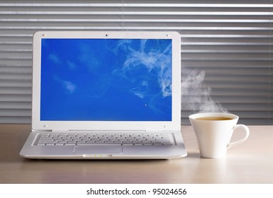 The clouds from your cup of tea. Business.