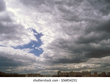 Cloudscape background.
