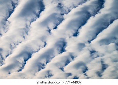 Cloudscape with stratocumulus clouds , clouds texture
