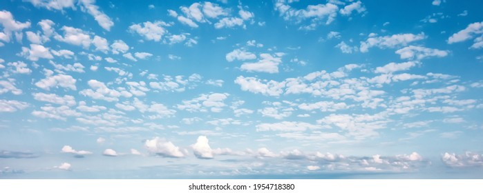 Cloudy blue sky abstract background - Shutterstock ID 1954718380